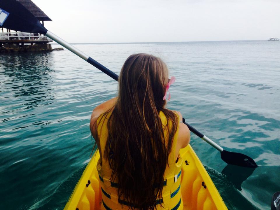 Kayaking at Sandals Ochi Beach Club