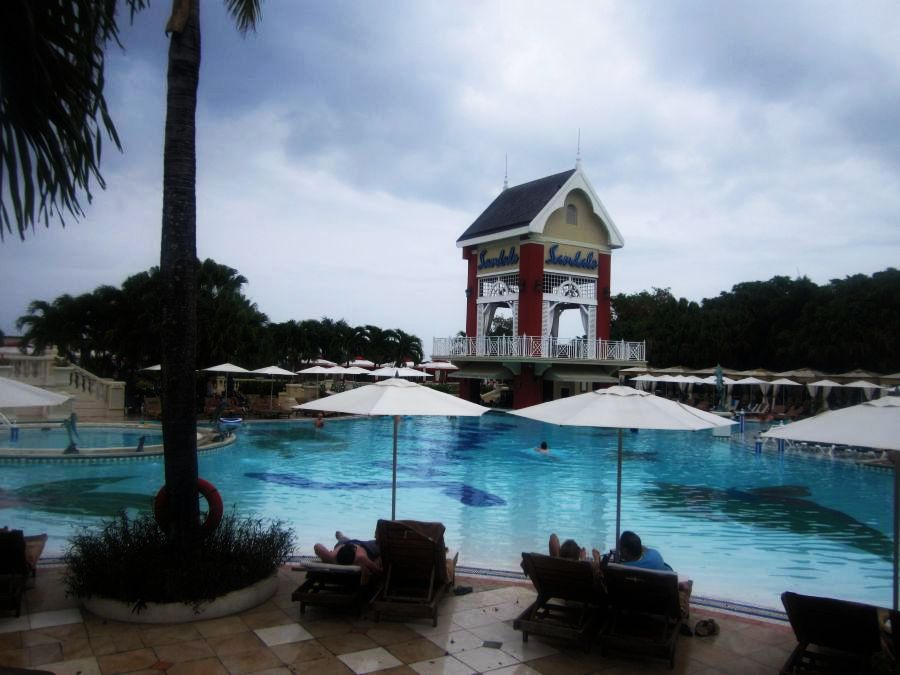 The main pool sandals ochi beach club