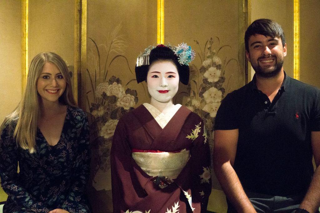 Maiko at Kyoto Granbell