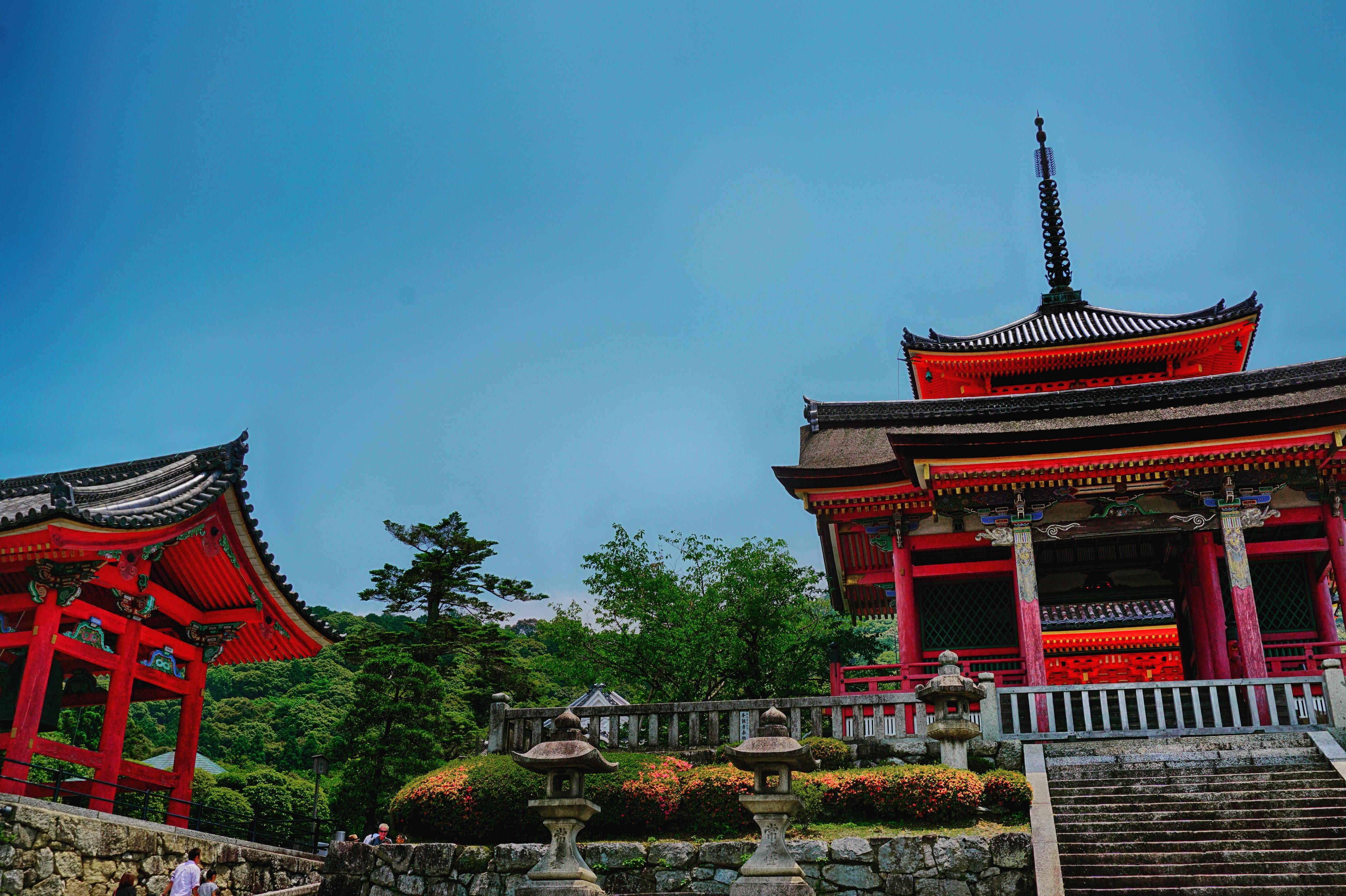 Kiyomizudera Temple in Kyoto, Japan