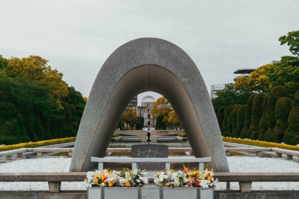 Centograph in Hiroshima