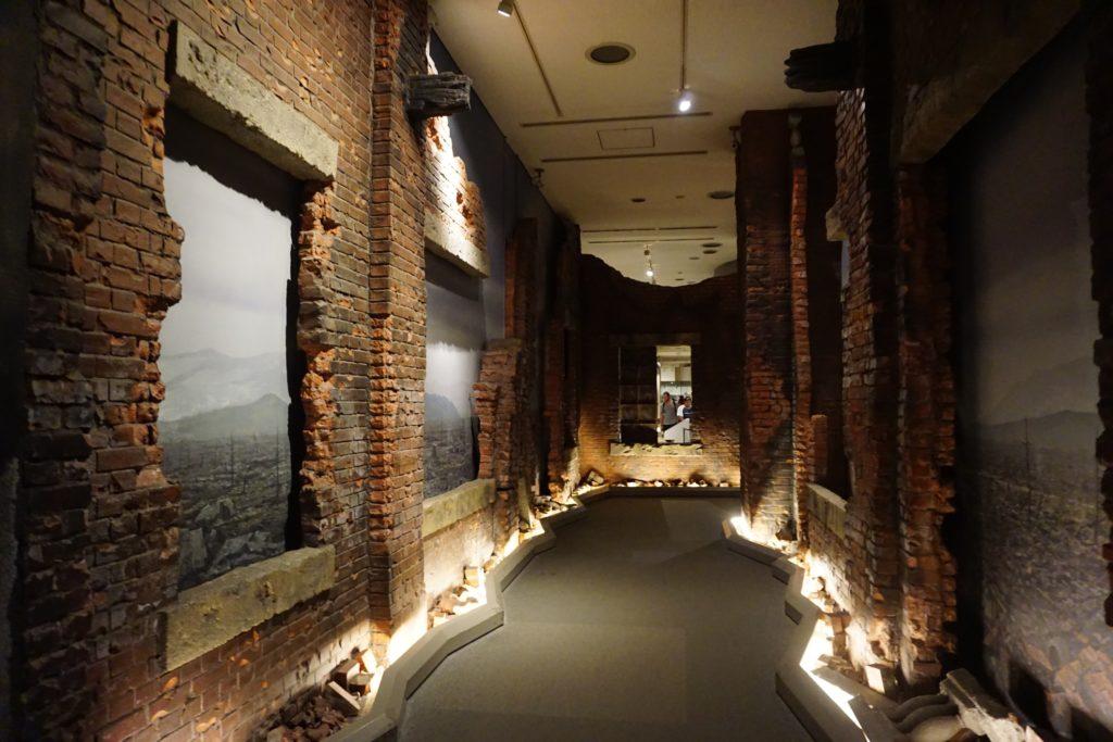 Entrance of the Hiroshima Peace Memorial Museum