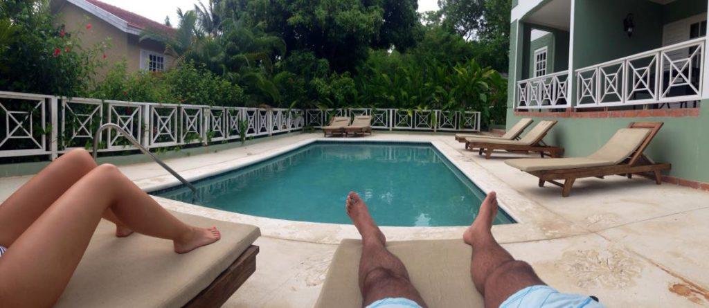 Private pool at Sandals Ochi Beach club