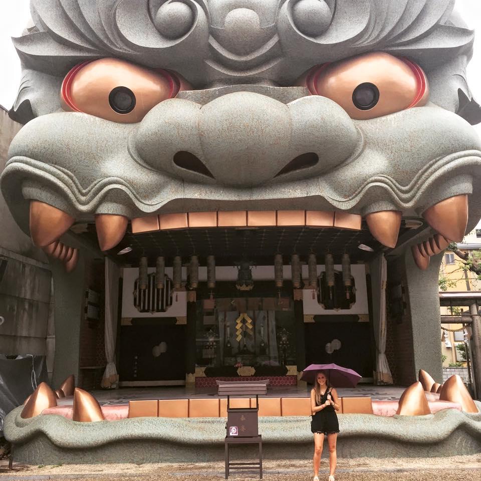 Namba Yasaka Shrine in Osaka, Japan - 3 day Osaka itinerary