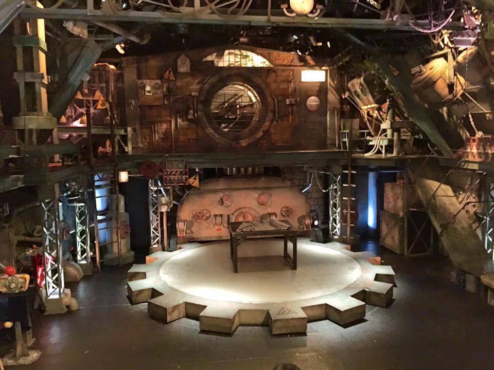 Gear Art Complex stage in Kyoto