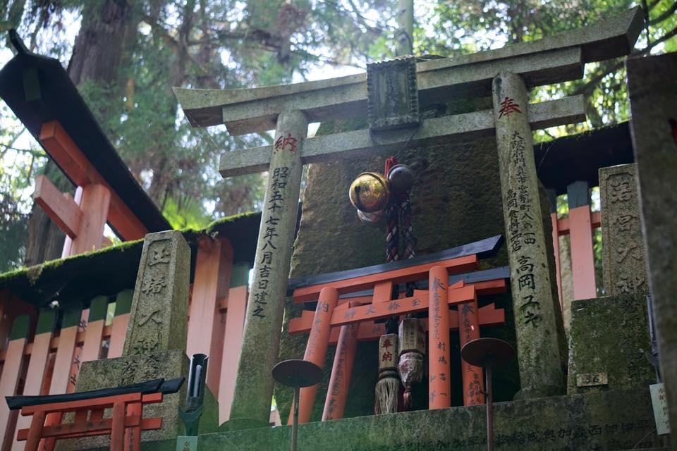 Small shrine at Fushimi Inari