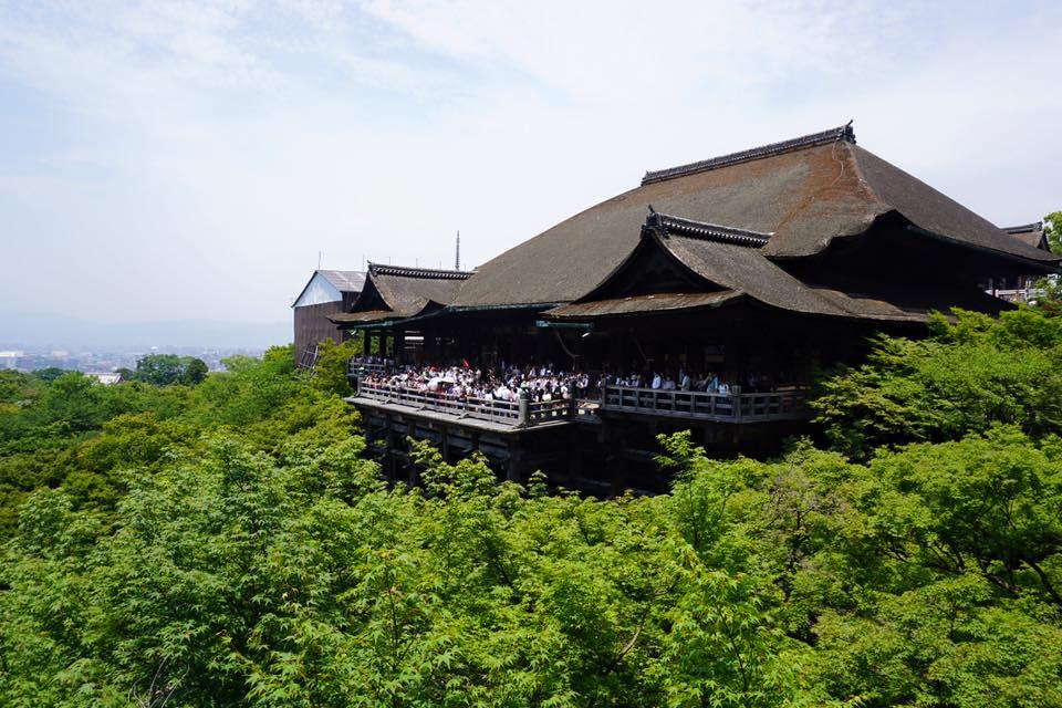 Kiyomizudera in Kyoto, Japan