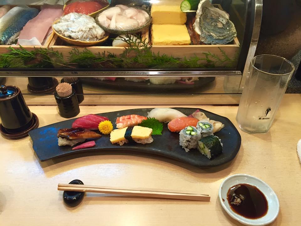 Sushi Hayata - Osaka, Japan