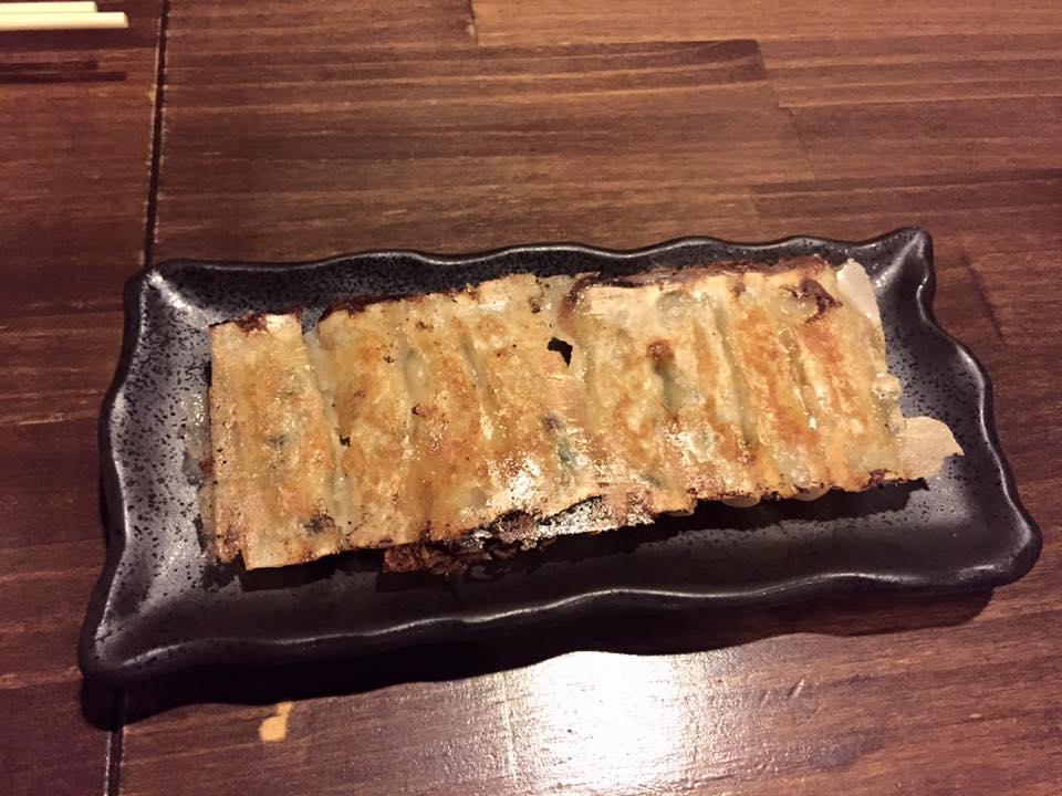 Pork gyoza from Chao Chao Gyoza