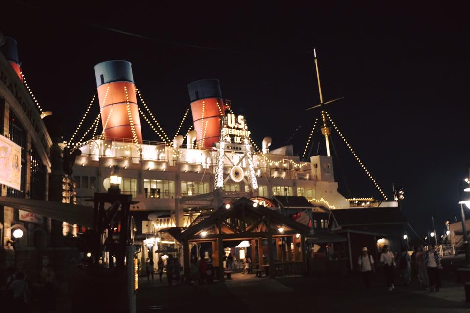 Large boat at Tokyo DisneySea