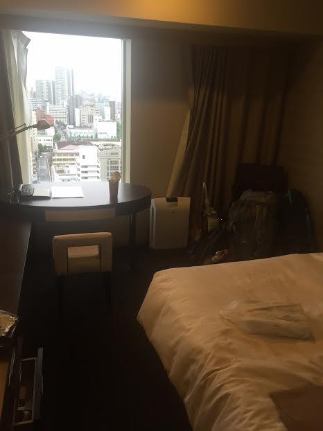 Bedroom of the Mitsui Garden Hotel Hiroshima - Hiroshima day trip