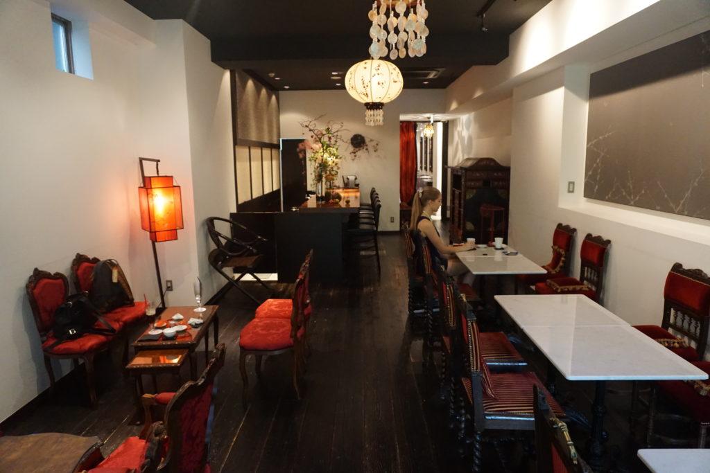 Lounge of Hotel Mume - Kyoto, Japan