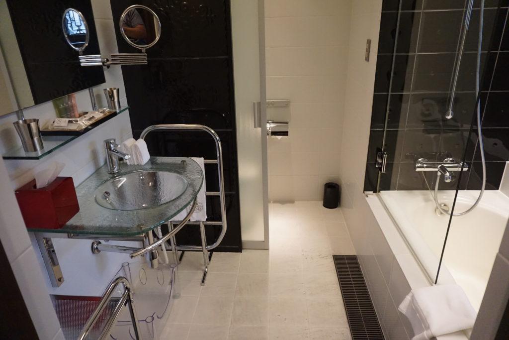 Bathroom of Hotel Mume in Kyoto