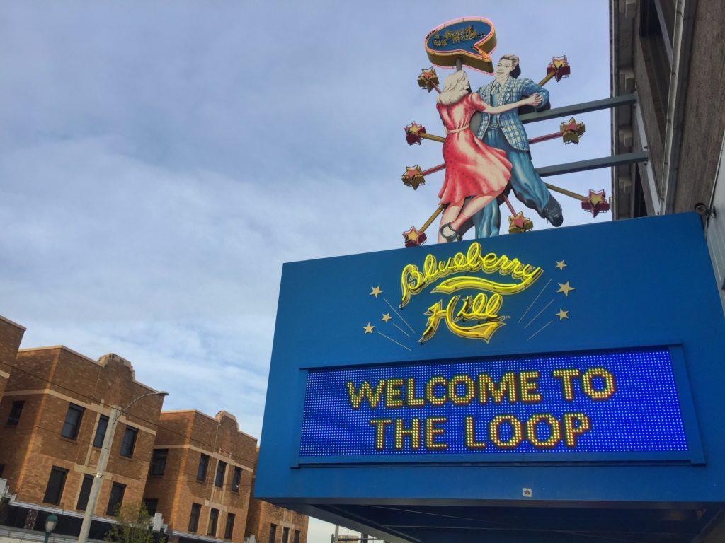 The Delmar Loop in St. Louis