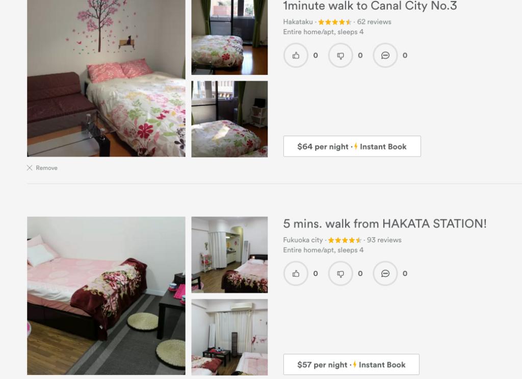 Airbnb travel website