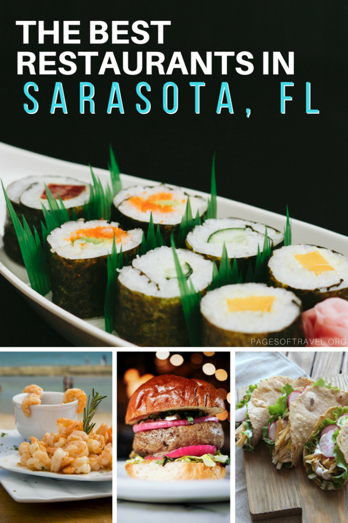 An comprehensive dining guide to the best restaurants, cafes, sweet shops, and more in Sarasota, Florida. www.pagesoftravel.org