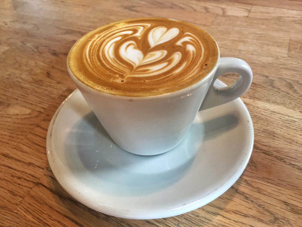 Flat White Latte - Perq Coffee Bar   Sarasota, Florida