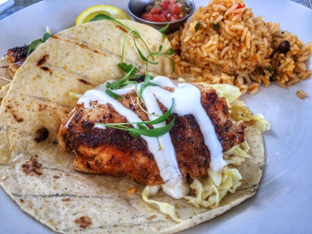 Blackened fish tacos at The Sandbar Restaurant - Anna Maria Island, Florida   Sarasota Dining   Sarasota   Florida