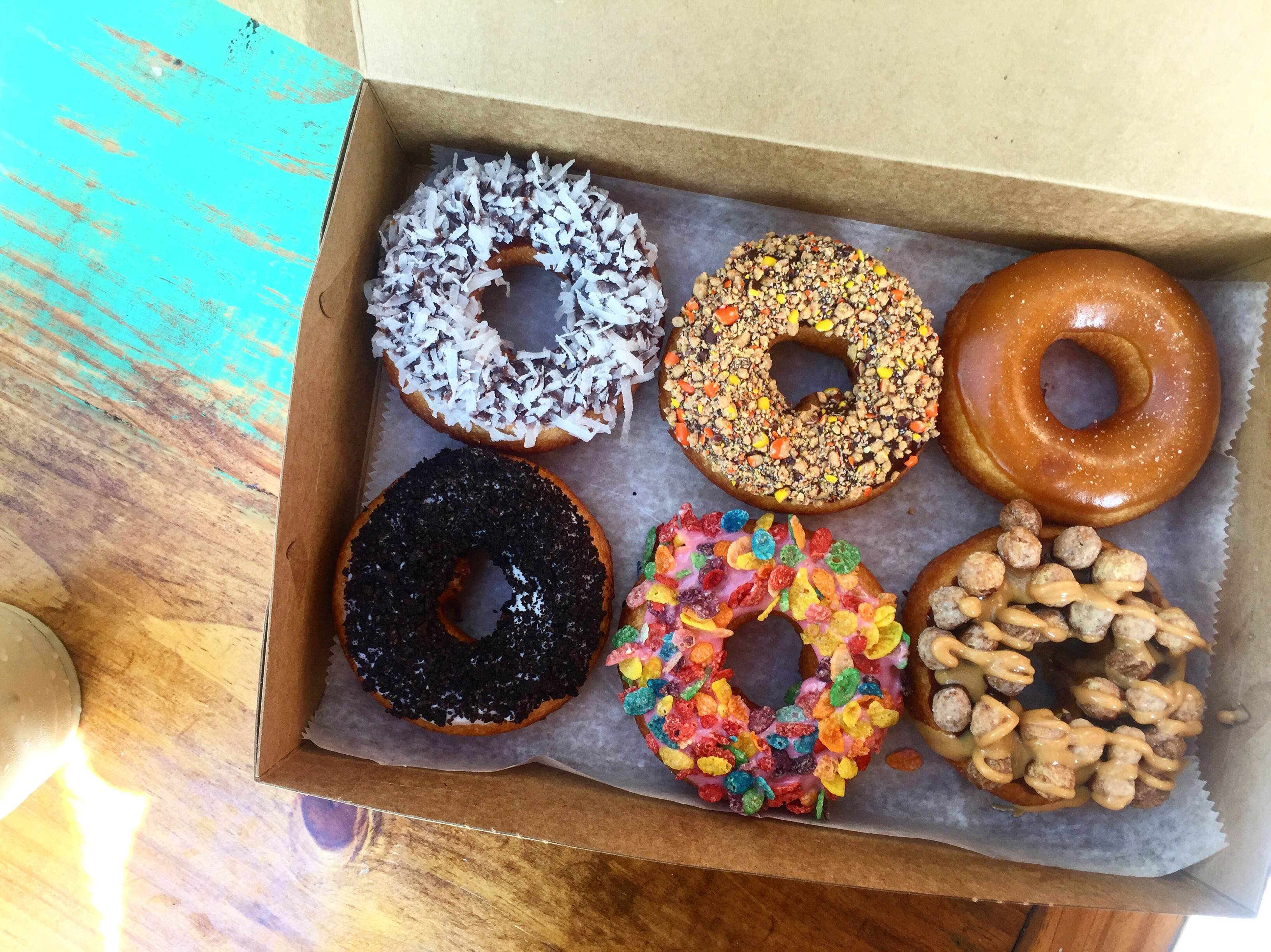 Donuts from The Donut Experiment Anna Maria Island near Sarasota, FL