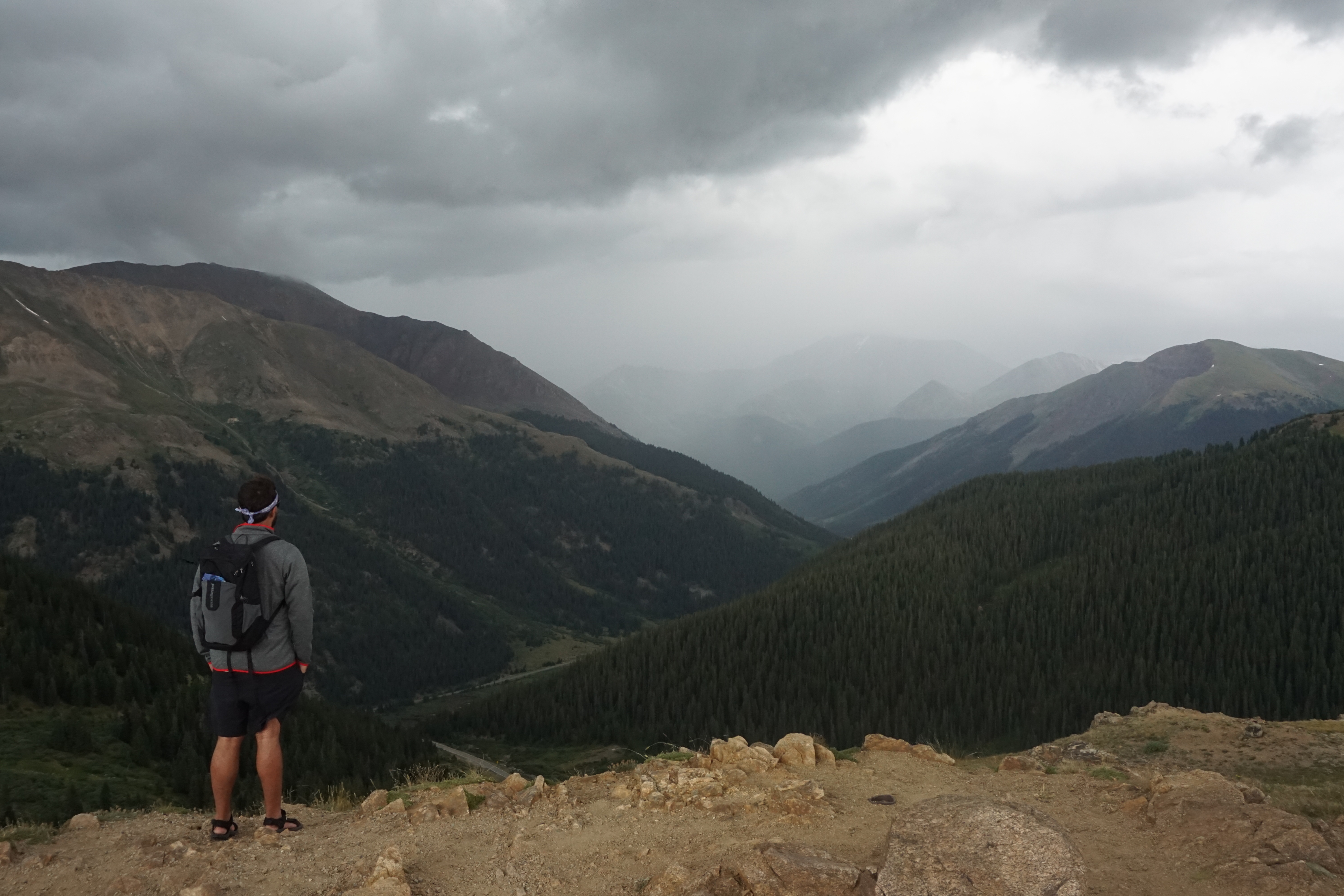 Views from Independence Pass in Colorado