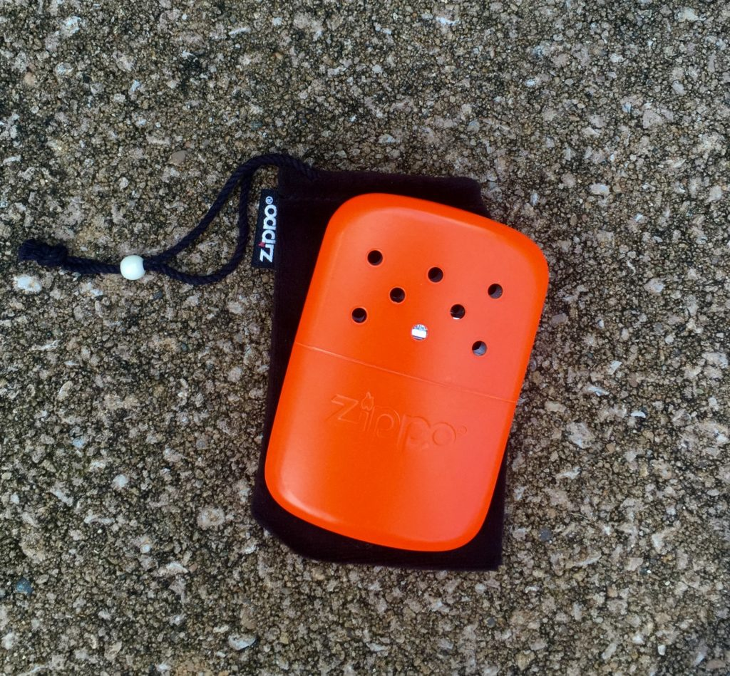 Zippo Hand Warmer - Camping first aid kit