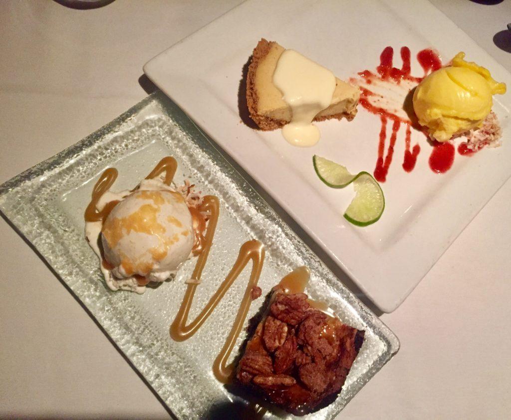 Desserts at Polo Grill in Tulsa