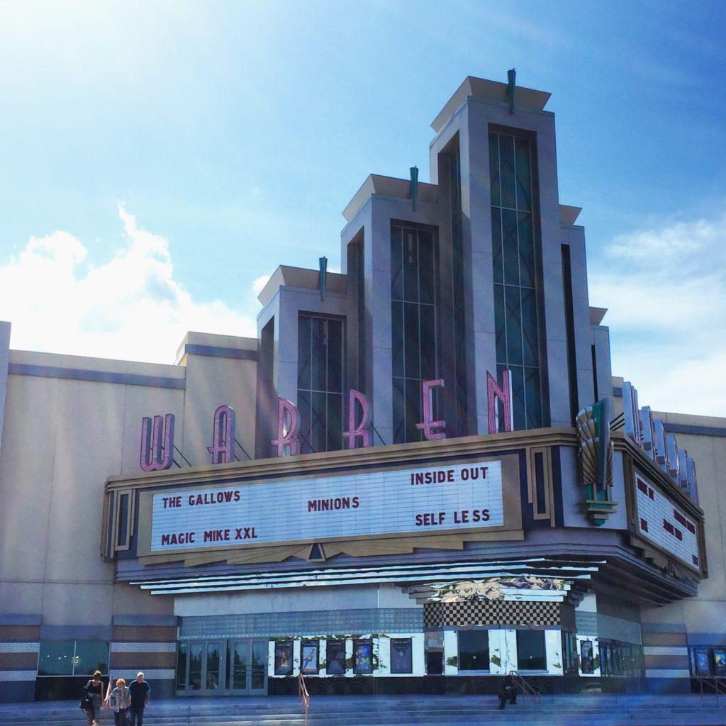 The Warren Movie Theater in Broken Arrow