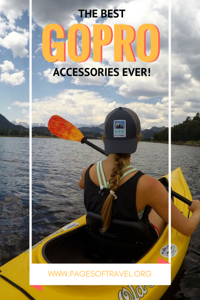 The best GoPro accessories that you MUST get for your GoPro camera! www.pagesoftravel.org