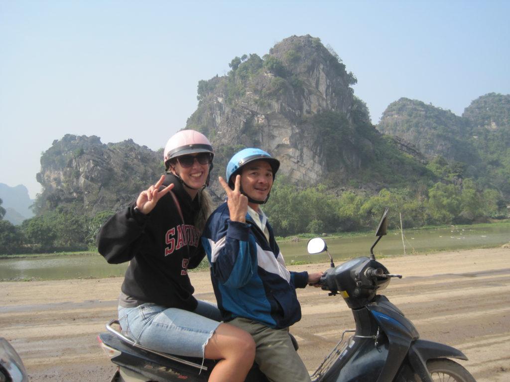 Motorcycle backpacking mistake