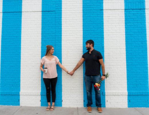 Draper James - Nashville, Tennessee | Downtown Nashville | Street Art | Things to do in Nashville | Nashville Street Art