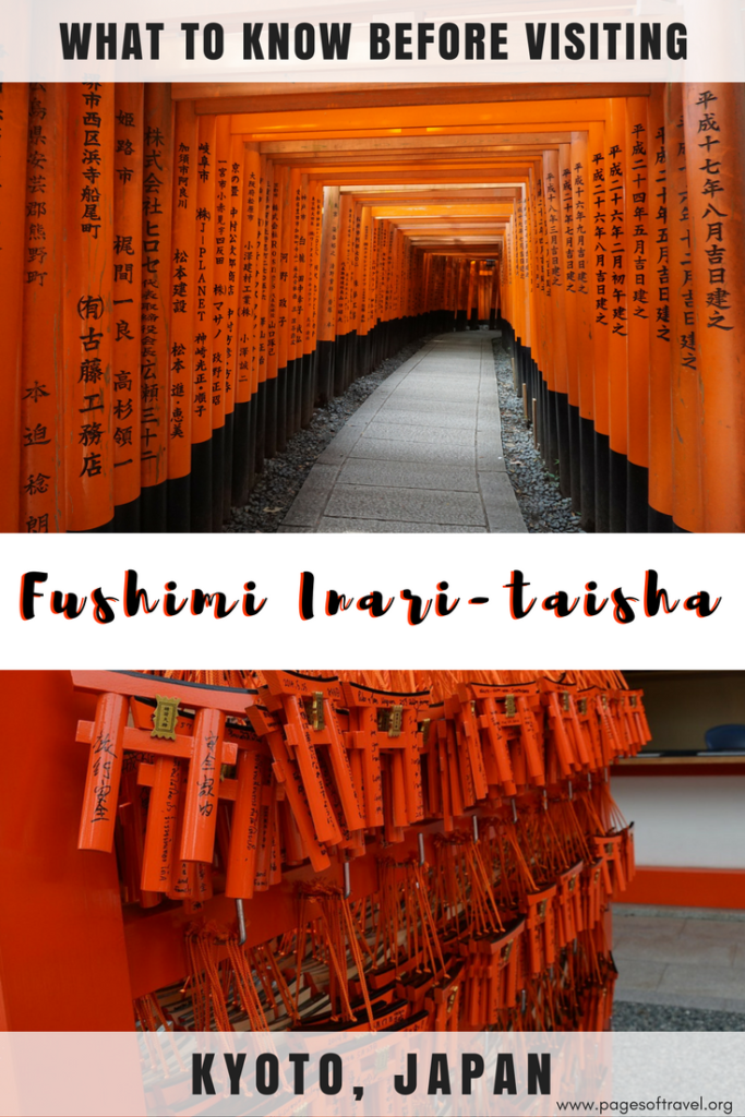 When thinking about Kyoto, visiting Fushimi Inari is one of the top things to do and it's easy to see why. The beauty and ambiance of this shrine span over a breathtaking 10,000 orange gates that envelope a path that windsup the Inari mountain.