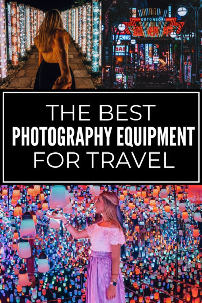 Looking into purchasing some new camera equipment? This list includes the best mirrorless camera for travel as well as other travel photography gear that is perfect for those starting out in photography or a seasoned pro.