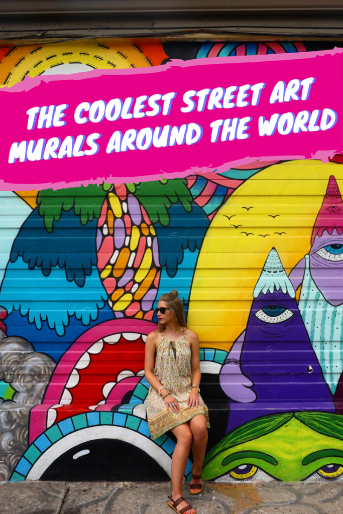 If you're a fan of street art then you'll love this list of places with the coolest street art found all around the world!