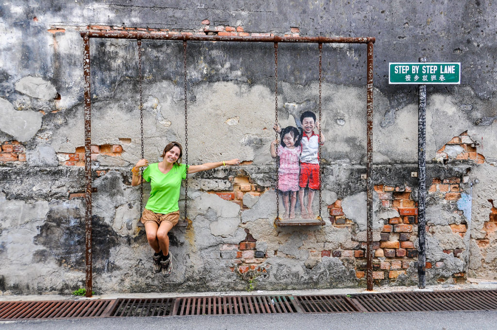 George Town, Malaysia - coolest street art
