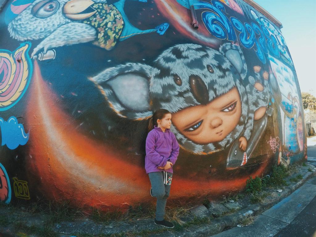 Newtown mural in Australia - coolest street art