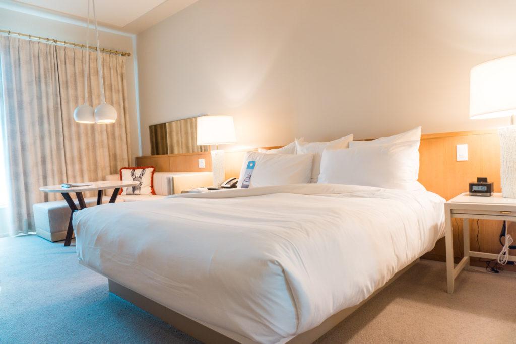 Room at the 21c Museum Hotel Bentonville