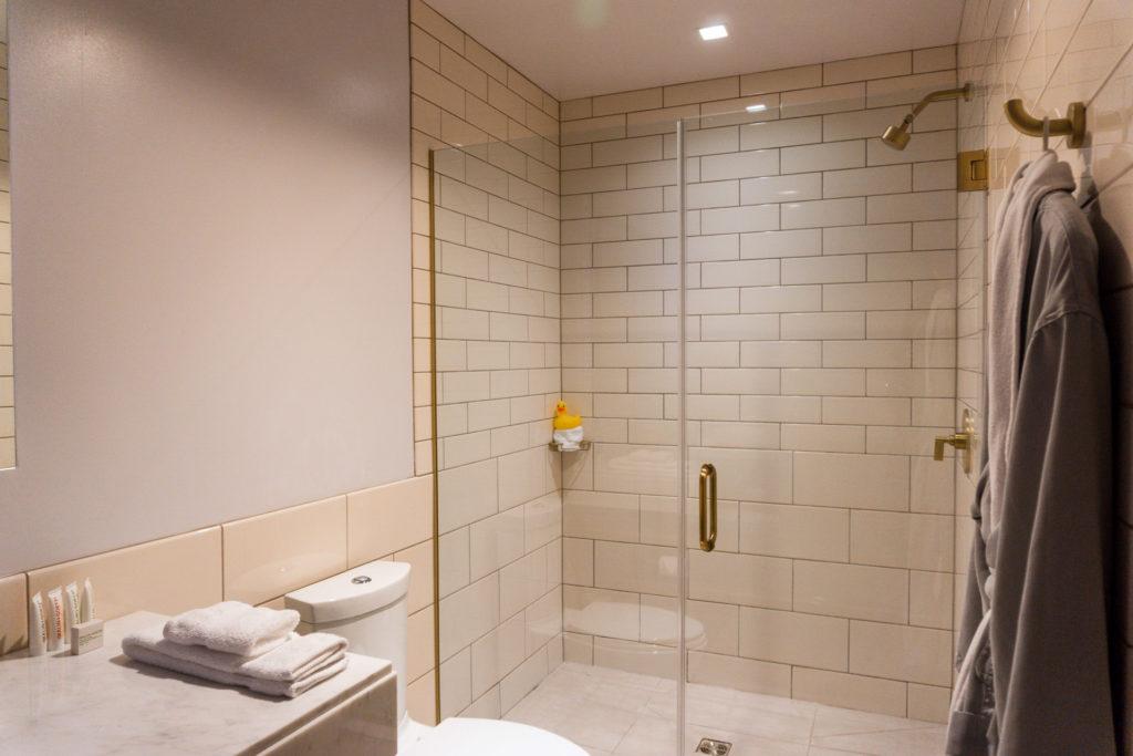 Bathroom at 21c Museum Hotel Bentonville