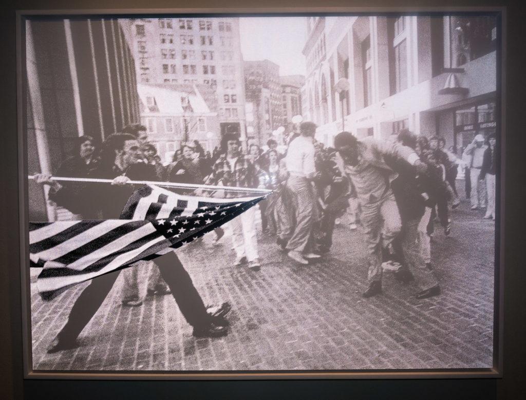 Art installation at 21c Museum Hotel Bentonville