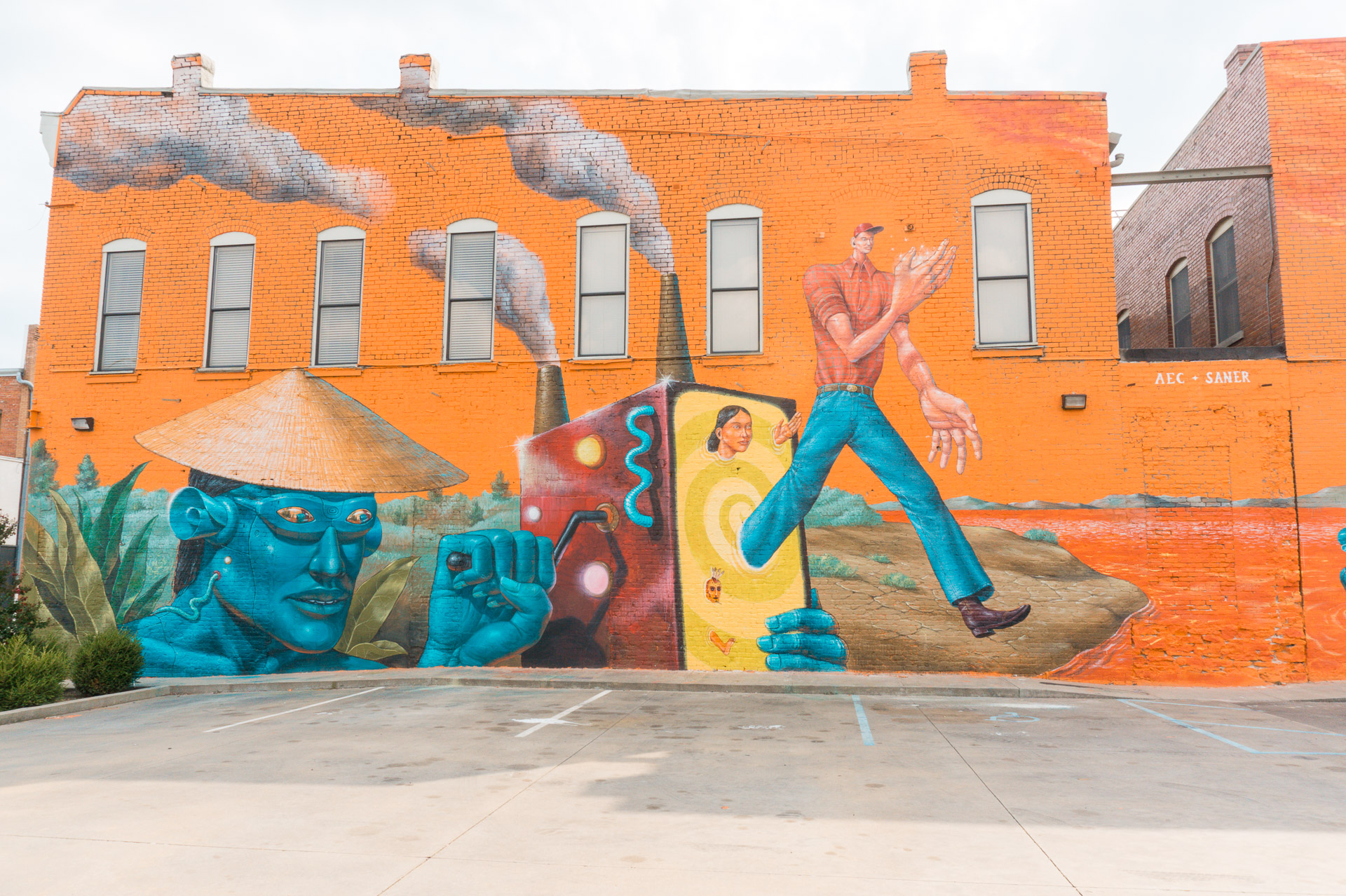 The Unexpected Murals Project - Fort Smith, Arkansas