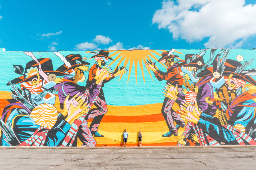 The Unexpected Murals Project- Fort Smith, Arkansas