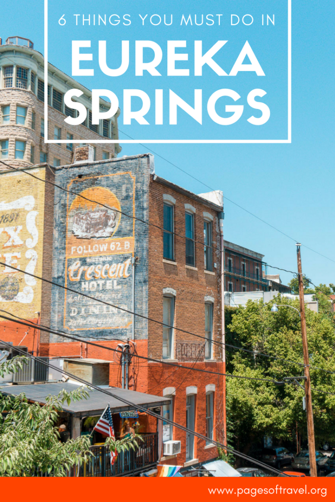 The charming town of Eureka Springs is anything but ordinary. These 6 things to do in Eureka Springs will spark curiosity!