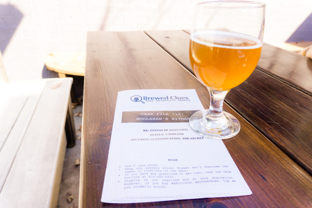 Brewed Clues brewery tour in Charlotte
