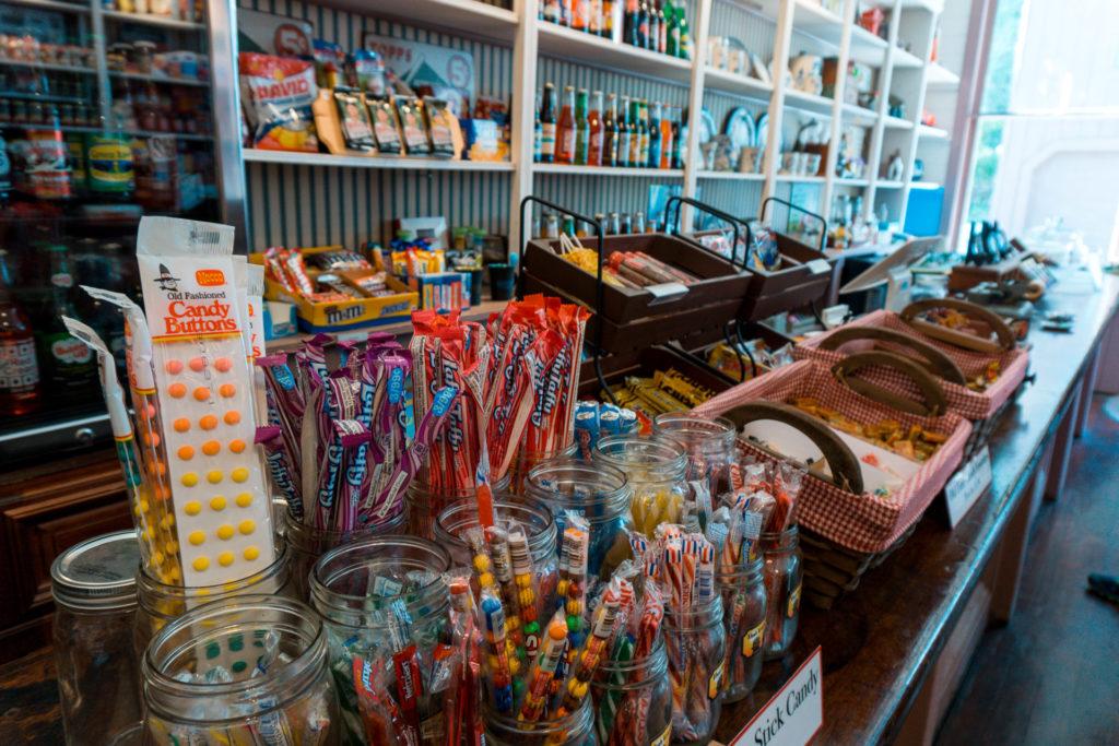 Elsah General Store in Elsah, Illinois- weekend getaway from St. Louis