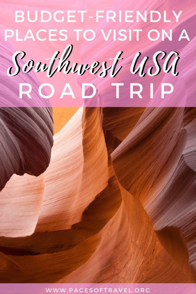 The landscape of the southwest United States is often entrancing, wild, and animated. This region offers vast deserts, a blend of cuisines, and unique activities to choose from for outdoor junkies. Add these Southwest USA road trip destinations to your travel bucket list and visit for only $150/day or less!