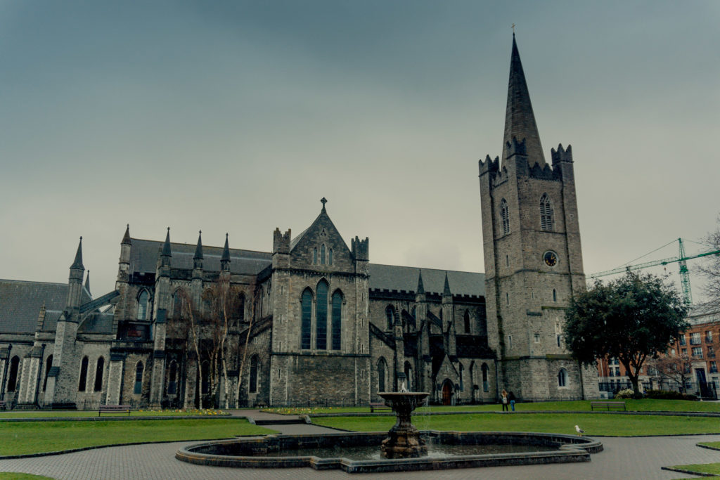 St. Patrick's Cathedral in Dublin, Ireland