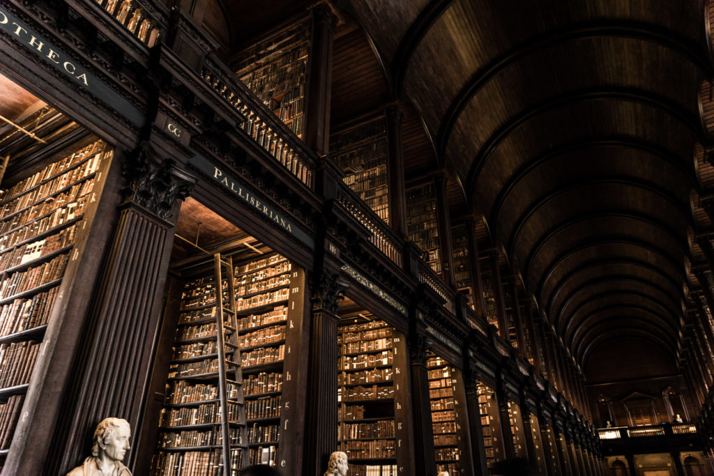 Trinity College Long Room in Dublin