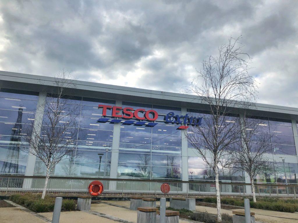 Tesco grocery story in Ireland
