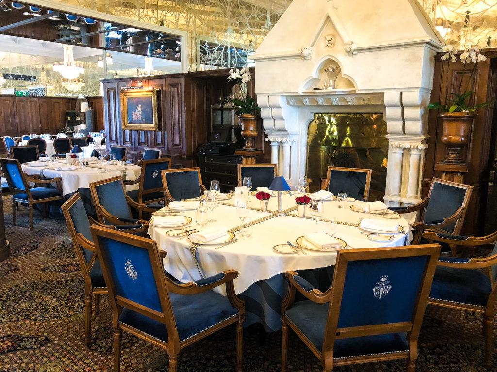 King George V Dining Room at Ashford Castle