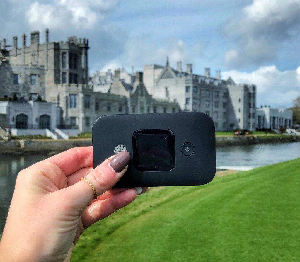 WiFi device in Ireland
