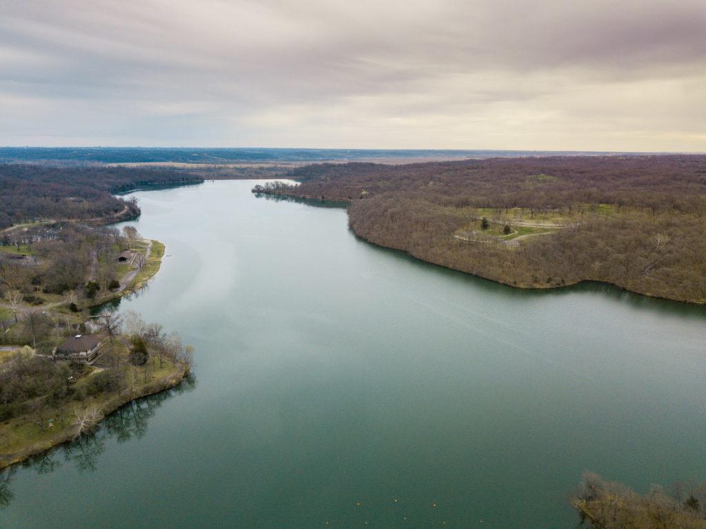 View of Wyandotte County Lake